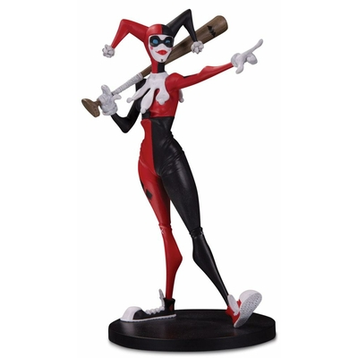 Statuette DC Artists Alley Harley Quinn by Hainanu Nooligan Saulque 17cm