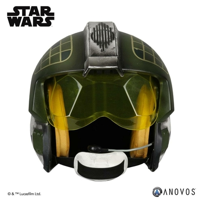 Réplique Star Wars casque de Gold Leader Rebel Pilot