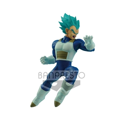 Figurine Dragon Ball Super In Flight Fighting Super Saiyan Blue Vegeta 16cm