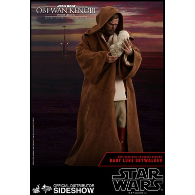 Figurine Star Wars Episode III Movie Masterpiece Obi-Wan Kenobi Deluxe Version 30cm