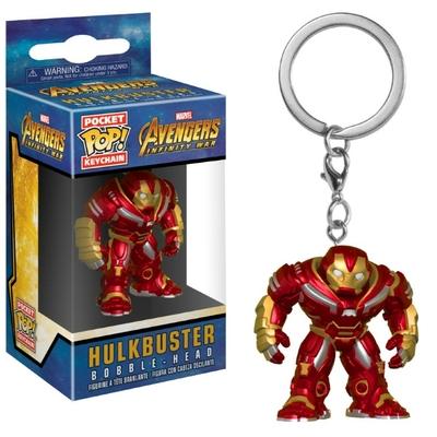 Porte-clés Avengers Infinity War Pocket POP! Hulkbuster 4cm