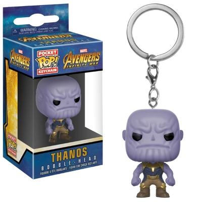 Porte-clés Avengers Infinity War Pocket POP! Thanos 4cm