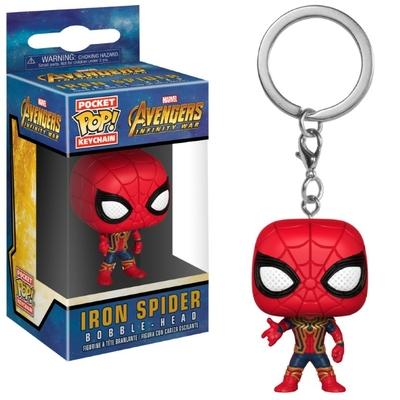 Porte-clés Avengers Infinity War Pocket POP! Iron Spider 4cm