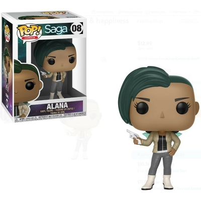 Figurine Saga Funko POP! Comics Alana with Gun 9cm
