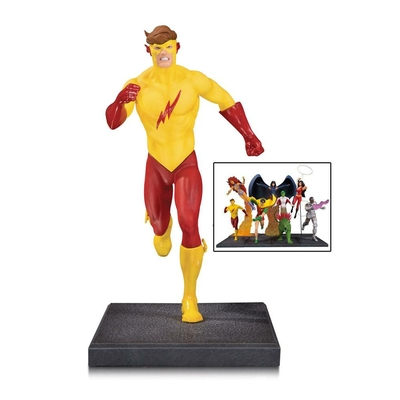 Diorama Teen Titans Kid Flash 16cm (partie 5 sur 7)