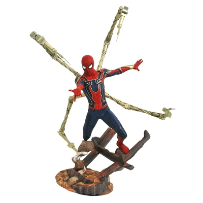 Statuette Avengers Infinity War Marvel Premier Collection Iron Spider-Man 30cm