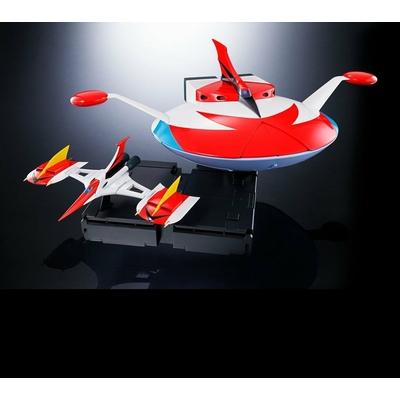 Figurine UFO Robot Grendizer Soul of Chogokin GX-76U Grandizer D.C. Spazer Set 18cm