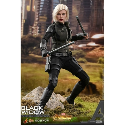 Figurine Avengers Infinity War Movie Masterpiece Black Widow 28cm