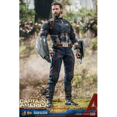 Figurine Avengers Infinity War Movie Masterpiece Captain America 31cm