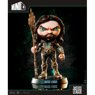 Figurine Justice League Mini Co. Aquaman 14cm