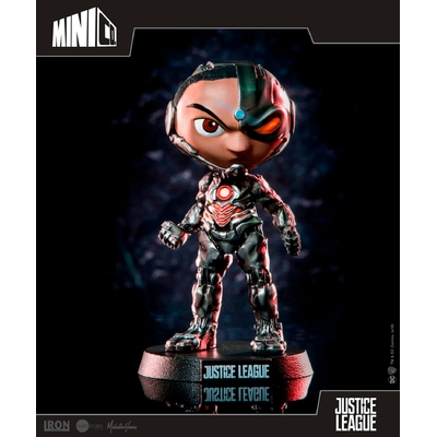 Figurine Justice League Mini Co. Cyborg 13cm