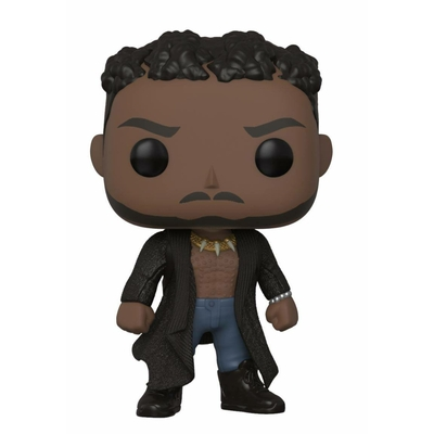 Figurine Black Panther Movie Funko POP! Marvel Bobble Head Killmonger 9cm