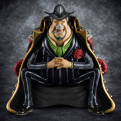 Statuette One Piece Excellent Model P.O.P S.O.C Capone Gang Bege 14cm