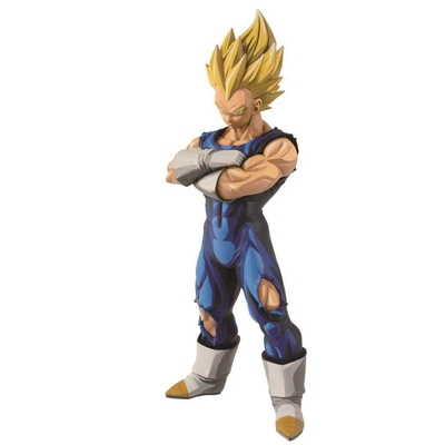 Figurine Dragon Ball Z Grandista Super Saiyan Vegeta Manga Dimensions 26cm