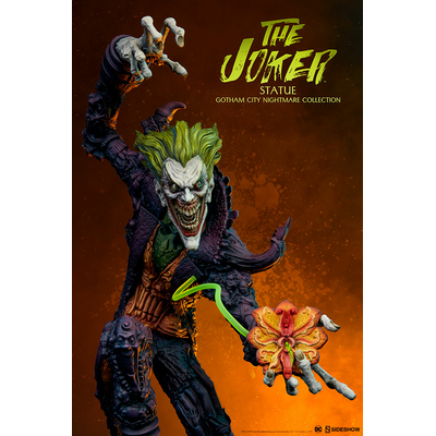 Statue DC Comics Gotham City Nightmare Collection Joker 50cm