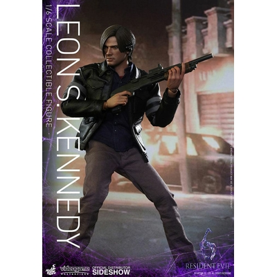 Figurine Resident Evil 6 Videogame Masterpiece Leon S Kennedy 30cm