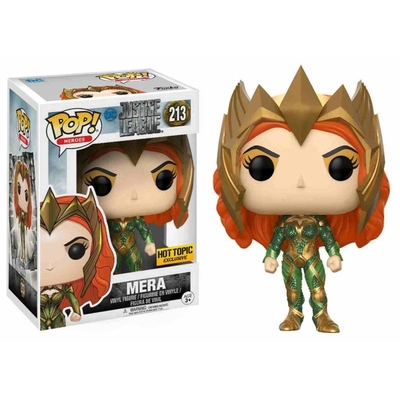 Figurine Justice League Funko POP! Mera Exclusive 09cm