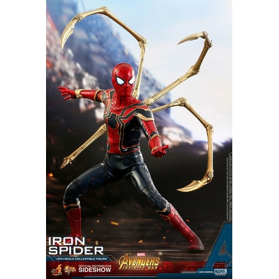 Figurine Avengers Infinity War Movie Masterpiece Iron Spider 28cm