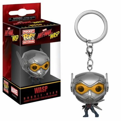 Porte-clés Ant-Man and the Wasp Pocket POP! Wasp 4cm