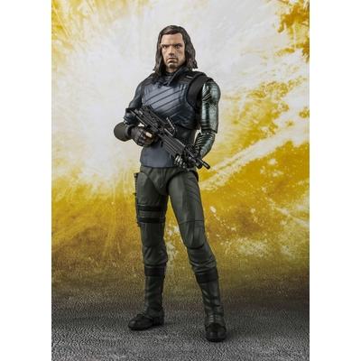 Figurine Avengers Infinity War S.H. Figuarts Bucky Barnes & Tamashii Effect Impact  15cm