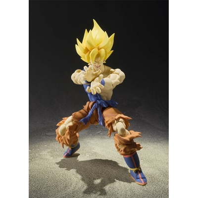 Figurine Dragon Ball Z SH Figuarts Son Goku Super Warrior Awakening 16cm