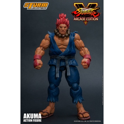 Figurine Street Fighter V Arcade Edition Akuma Nostalgia Costume 18cm