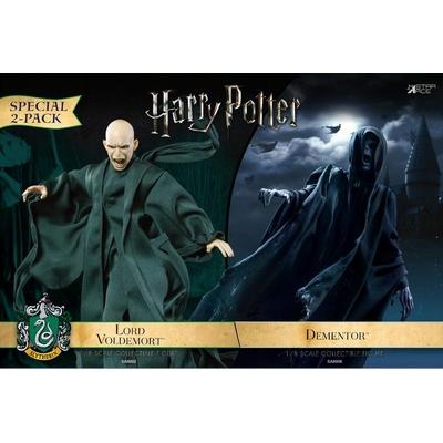 Pack Figurines Harry Potter Dementor & Voldemort 16-23cm