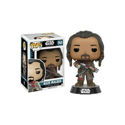 Figurine Star wars Rogue One Funko POP! Bobble Head Baze Malbus 9cm