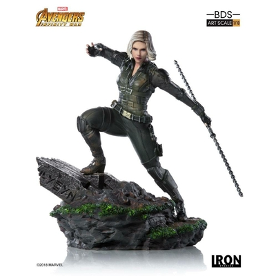 Statuette Avengers Infinity War Art Scale Black Widow 18cm