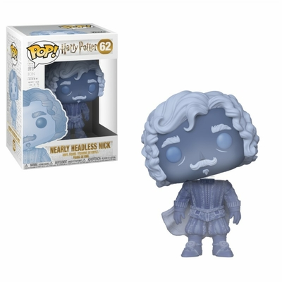 Figurine Harry Potter Funko POP! Nearly Headless Nick Blue Translucent 9cm
