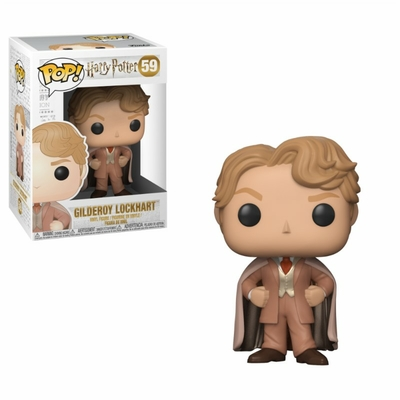Figurine Harry Potter Funko POP! Gilderoy Lockhart 9cm
