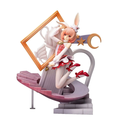 Statuette Fairy Tale Alice in Wonderland Another White Rabbit 28cm