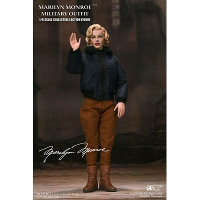 Figurine Marilyn Monroe My Favourite Legend Military Outfit 29cm