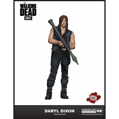 Figurine Deluxe The Walking Dead Daryl Dixon 25cm