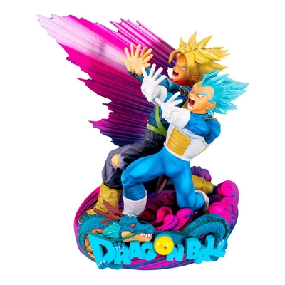 Figurine Dragon Ball Super Super Master Stars Piece Vegeta & Trunks Special Color Version 18cm