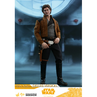 Figurine Star Wars Solo Movie Masterpiece Han Solo Deluxe Version 31cm
