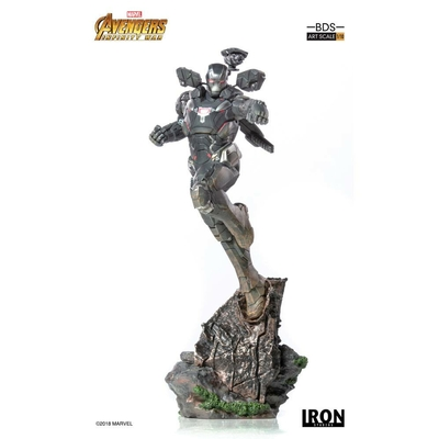 Statuette Avengers Infinity War Art Scale War Machine 30cm