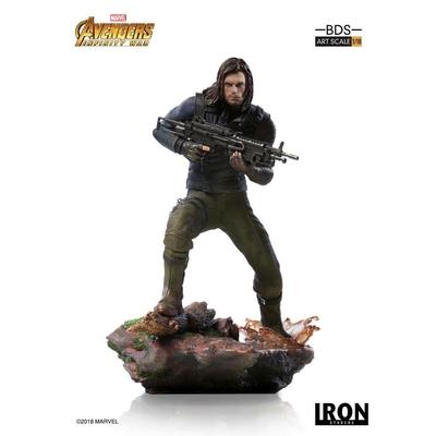 Statuette Avengers Infinity War Art Scale Winter Soldier 20cm