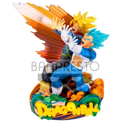Figurine Dragon Ball Super Super Master Stars Piece Vegeta & Trunks 20cm