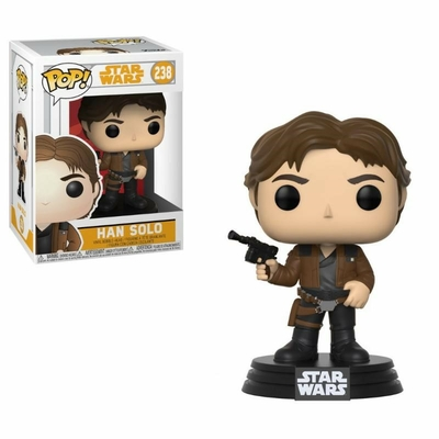Figurine Star Wars Solo Funko POP! Bobble Head Han Solo 9cm