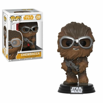 Figurine Star Wars Solo Funko POP! Bobble Head Chewbacca with Goggles 9cm