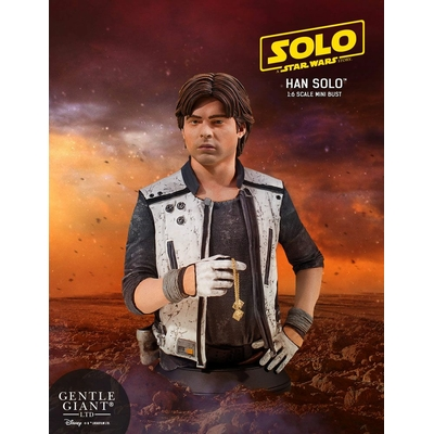 Buste Star Wars Solo - Han Solo Corellia 17cm