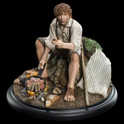 Statuette Le Seigneur des Anneaux Samwise Gamgee 10cm