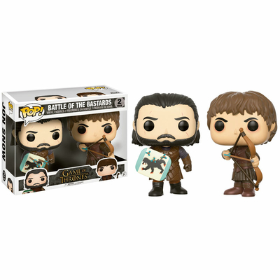 Pack Le Trône de Fer Funko POP! Battle of the Bastards Jon Snow & Ramsay Bolton