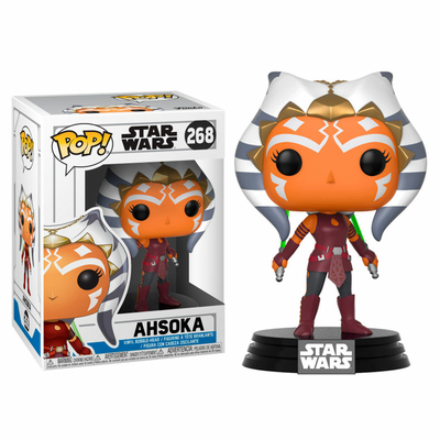 Figurine Star Wars Clone Wars Funko POP! Bobble Head Ahsoka 9cm