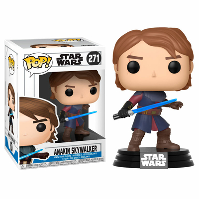 Figurine Star Wars Clone Wars Funko POP! Bobble Head Anakin 9cm