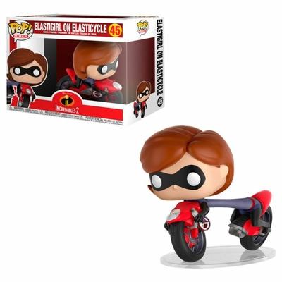 Figurine Les Indestructibles 2 Funko POP! Rides Elastigirl on Elasticycle 15cm