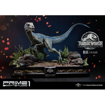 Statue Jurassic World Fallen Kingdom Blue 65cm
