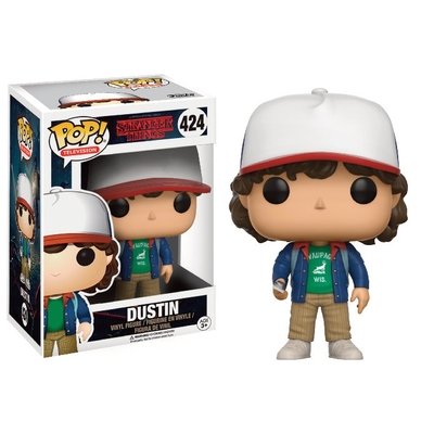 Figurine Stranger Things Funko POP! Dustin 9cm