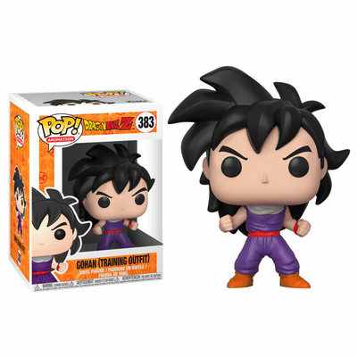 Figurine Dragon Ball Z Funko POP! Son Gohan Training Outfit 9cm